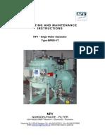 Operating Instructions MPEB VT Std Engl