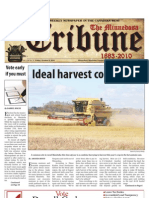 Front Page - October 8, 2010