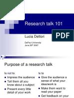 Idea ResearchPresentation 2