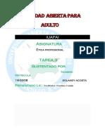 Etica Profesional Tarea 3 Mella.