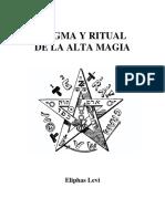 Dogma y Ritual de Alta Magia - Eliphas Levi