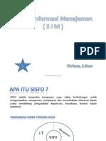 Sistem Informasi Manajemen - 01