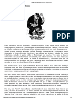 A Essência do Neoliberalismo - Pierre Bourdieu