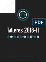 Folleto Talleres 2018-II Dos