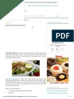 Resep Soto Ayam Lamongan Asli _ Resep Masakan Nusantara Lengkap Komplit Spesial
