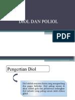 Diol Dan Poliol Organik