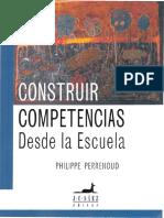 Construir Competencias Desde La Escuela Perrenoud P. Ccesa007