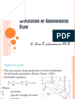 Application of Groundwater Flow