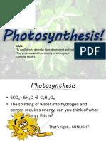 Photosynthesis (1)