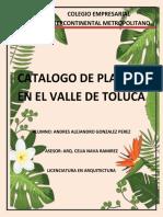 Catalogo de Plantas Valle de Toluca