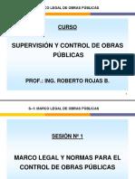 MARCO LEGAL OBRAS PUBLICAS