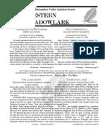 Sep-Oct 2006 Western Meadowlark Newsletter ~ San Bernardino Valley Audubon Society