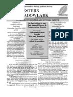 Mar-Apr 2007 Western Meadowlark Newsletter ~ San Bernardino Valley Audubon Society