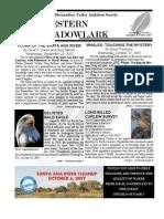 Sep-Oct 2007 Western Meadowlark Newsletter ~ San Bernardino Valley Audubon Society