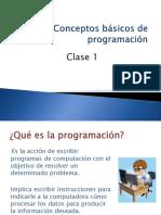 S1 Clase3b Concepto Programación