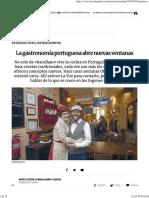 La gastronomía portuguesa abre nuevas ventanas (LA VOZ DE G)_2018_02_05.pdf