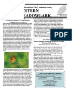 May-Jun 2010 Western Meadowlark Newsletter ~ San Bernardino Valley Audubon Society