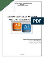 My Little Pocket Dictionary - Extracurricular Activity.docx