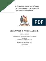 LA2 Fundamentos de Lenguajes y Autómatas