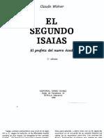 20 - Claude Wiener - El segundo Isaías (Cuadernos Bíblicos 020).pdf