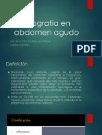 ecografia abdomen agudo