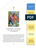 Ch07 - Consumers, Producers, And the Efficiency of Markets