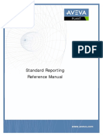 AVEVA Standard Reporting Reference Manual