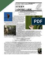 Mar-Apr 2009 Western Meadowlark Newsletter ~ San Bernardino Valley Audubon Society