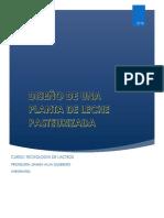 Diseño de Una Planta de Leche Pasteurizada