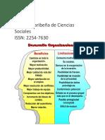Revista El Comportamiento Organizacional y Su Influencia en La Calidad y Productividad de La Organización