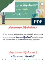 Expresiones Algebraicas i