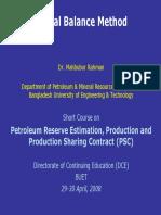 Material Balance Method Presentation[1]