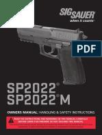 pistola sig sauer SP2022