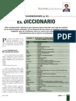 Diccionario transmisiones