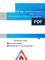 FIRE BALL EXTINGHIUSHER.ppt