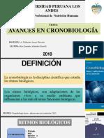 AVANCES CRONOBIOLOGÍA