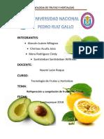 Practica n º03 Frutas y Hortalizas