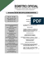 Registro Oficial No 598 Ley Organica Reformatoria Al Codigo Organico Integral Penal