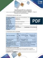 Guía de Actividades y Rúbrica de Evaluación - Fase 2 - Identificar Bloques Sistema, Conceptos Metrología, Diseño de Circuitos en Equilibrio