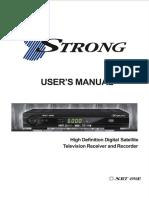 SRT 4950E Manual