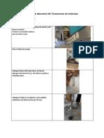 Práctica de Laboratorio - Formaciones de Moléculas