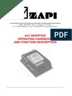 ZAPI AC-1 Manual