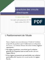Analyse Transitoire Des Circuits Électriques
