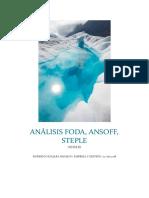 Análisis Foda, Steple y Ansoff.