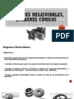 Engranes Helicoidales, Engranes Cónicos