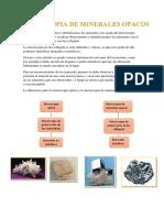 Resumen de microscopia de minerales opacos