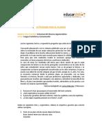 Estructura Del Discurso Argumentativo133339