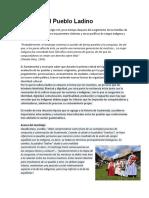 Cultura Del Pueblo Ladino