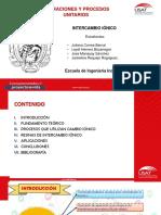 DIAPOS. INTERCAMBIO IONICO
