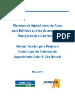 CONGÁS - Sistemas de Aquecimento de Água Para Edifícios - 2011